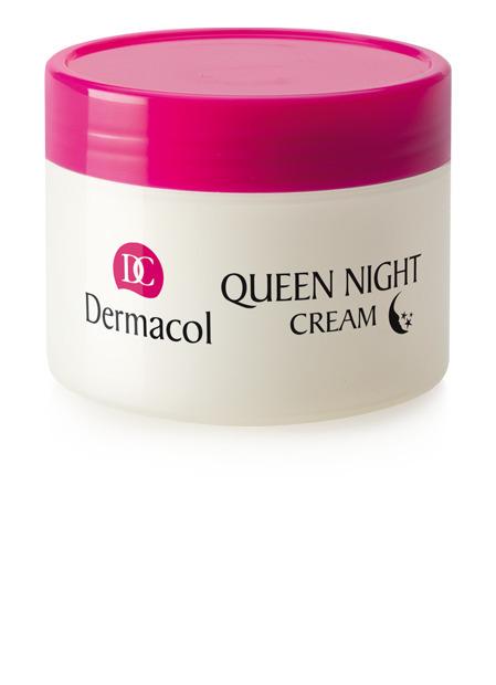 Dermacol - Queen Night Cream - Nočná hĺbková starostlivosť o suchú a veľmi suchú pleť - 50 ml