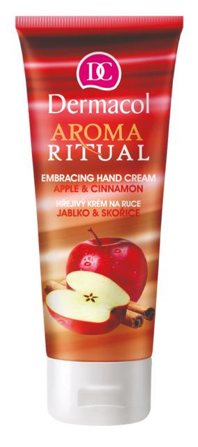 Dermacol - Aroma Ritual Hand Cream Apple & Cinnamon - Hrejivý krém na ruky - jablko so škoricou - 100 ml