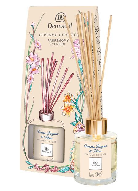 Dermacol - Perfume diffuser Aromatic Bergamot & Vetiver - Parfémový difuzér s vůní cedru a vetiveru - 100 ml