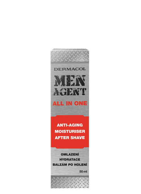 Men Agent Anti-aging gel-cream and after shave balm