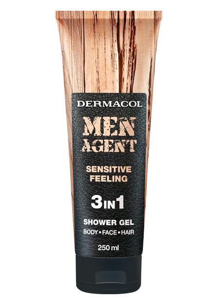 Men Agent Shower Gel Sensitive Feeling