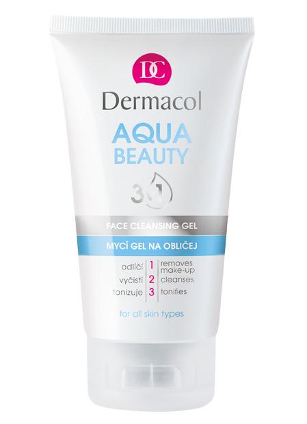 Dermacol - Aqua Beauty 3v1 Face Cleasing Gel - Mycí gel na obličej s mořskými řasami - 150 ml