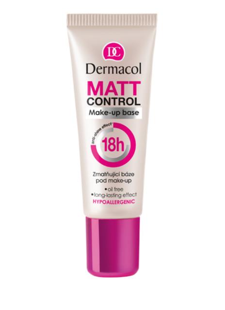 Dermacol - MATT CONTROL MAKE-UP BASE - Zmatňujúca báza pod make-up 18h - 20 ml