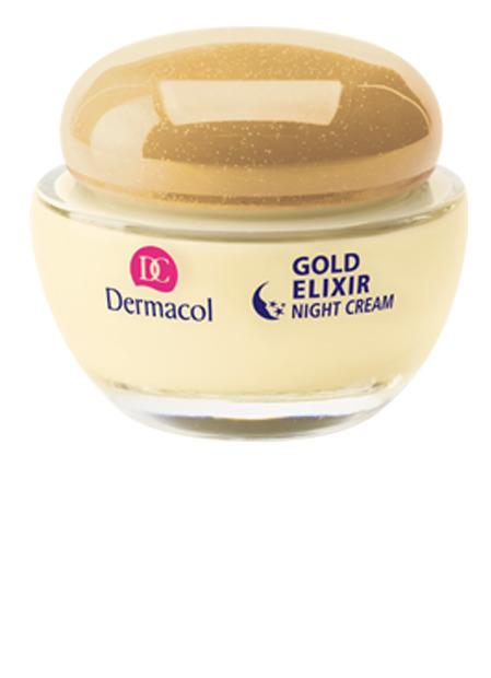 Dermacol - Omladzujúci kaviárový nočný krém - Gold Elixir Caviar Night Cream - 50 ml