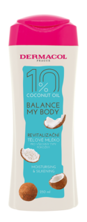 Coconut oil revitalising body milk
