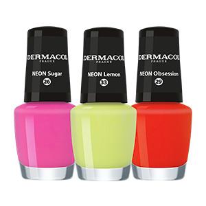 Dermacol - Neon nail polish - Neónové laky na nechty - 5 ml