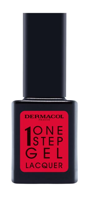 Dermacol one step gel laquer nail polish - gelový lak na nechty