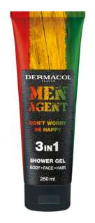 Men Agent Shower Gel Don´t worry be happy