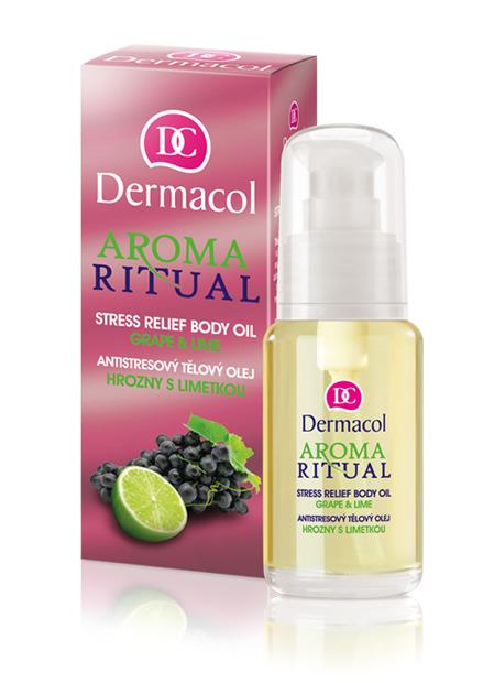 Dermacol - AROMA RITUAL BODY OIL - GRAPE & LIME - Antistresový telový olej - hrozno s limetkou - 50 ml