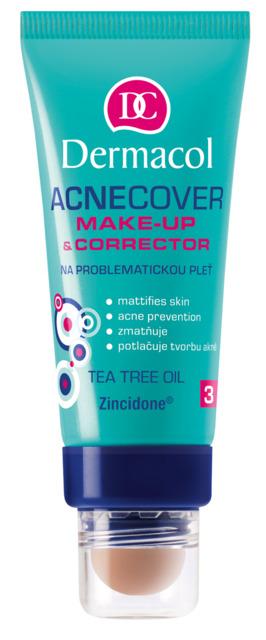 Dermacol - ACNECOVER MAKE-UP & CORRECTOR - Make-up s korektorom na problematickú pleť - 30 ml + 3 g