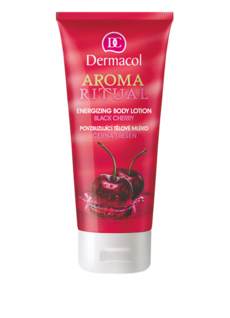 Aroma Ritual body lotion black cherry