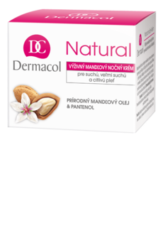 Natural almond night cream