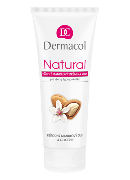 Natural almond hand cream
