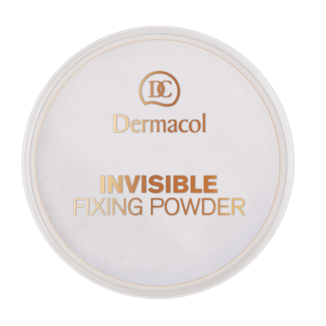 Dermacol - Invisible Fixing Powder - Transparentní fixační pudr - 13,5 g