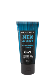 Men Agent Shower gel Gentleman touch -  miniature