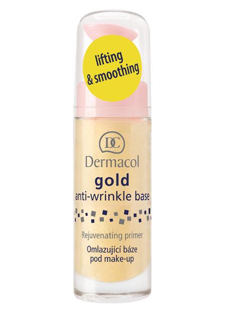 Levně Dermacol - Gold Anti-wrinkle Base - Omlazující báze pod make-up - 20 ml