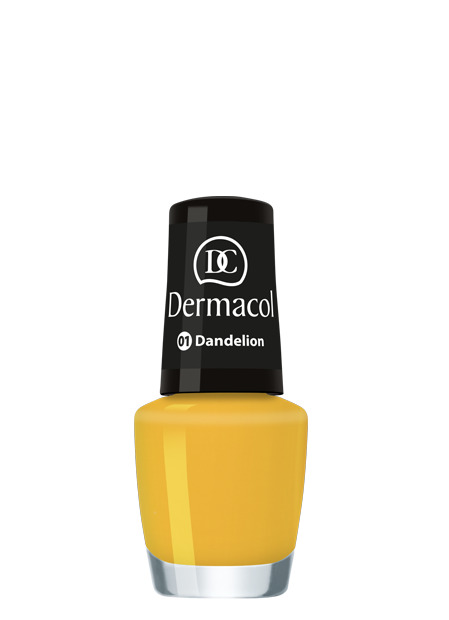 Dermacol - Nail Polish Mini Summer Collection - Letné mini laky na nechty - 5 ml