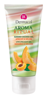 Aroma Ritual Shower Gel - apricot and melon - miniature
