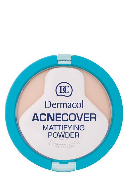 Dermacol - Acnecover Mattifying Powder - Kompaktní matující pudr na problematickou pleť - 11 g