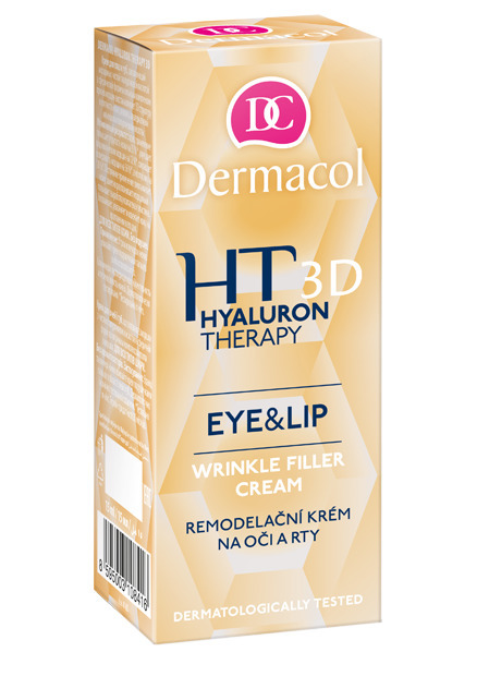 3D Hyaluron Therapy wrinkle filler eye and lip cream