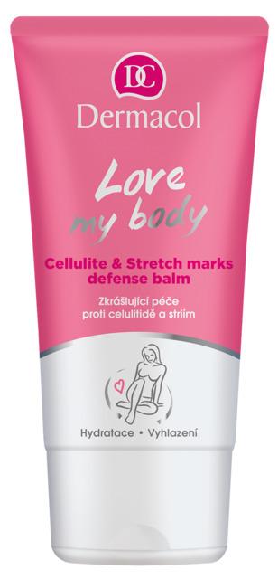 Dermacol Cellulite and Stretch marks defense balm Love my body - starostlivosť proti celulitidě a striím