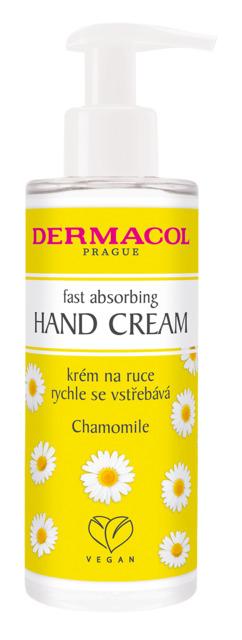 Dermacol - Fast absorbing hand cream - Krém na ruky s pumpičkou - harmanček - 150 ml