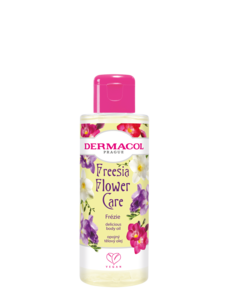 FLOWER CARE delicious body oil Freesia